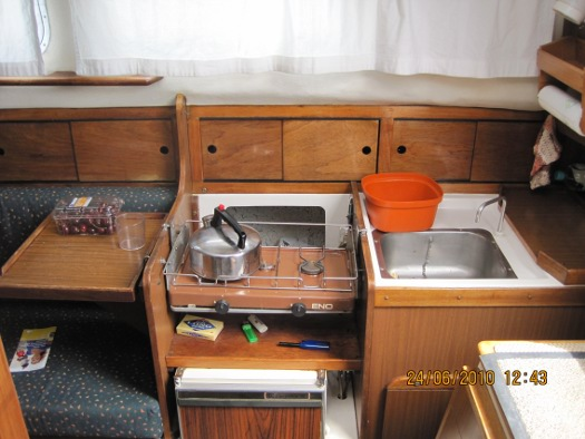 Orca's galley